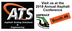 Asphalt Contractors Association of Florida Annual Conference with ATS Booth