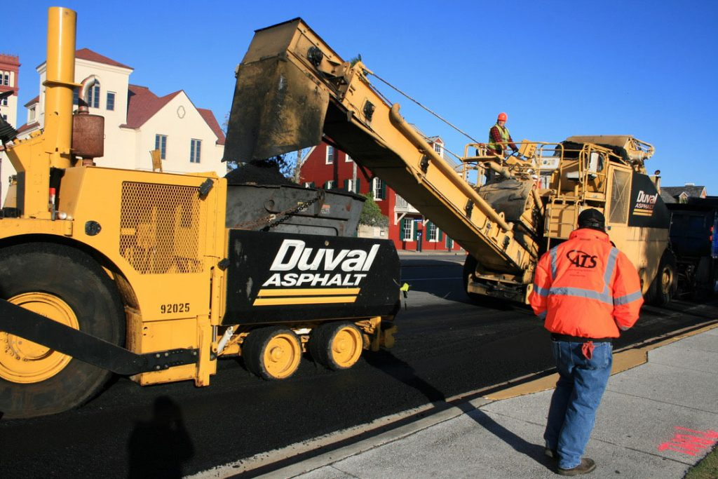Asphalt Testing Solutions & Engineering Rpadway Specialist and Duval Asphalt paving equipment