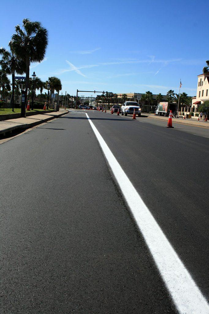 Smooth pavement