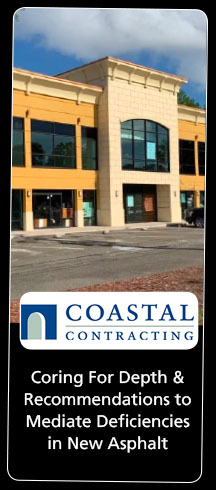 Coastal Contracting Asphalt Core Sample for Asphalt Core Testing Procedures for Depth