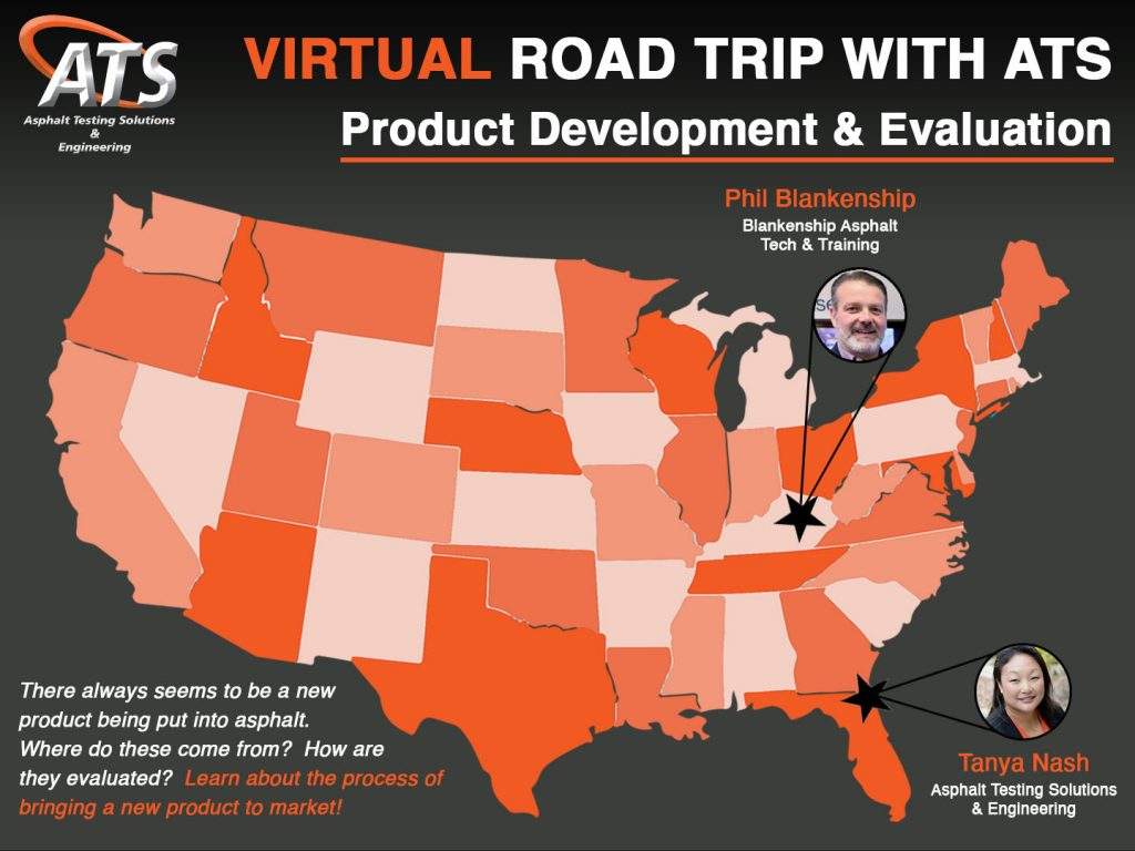 Map of United States for Product Development webinar