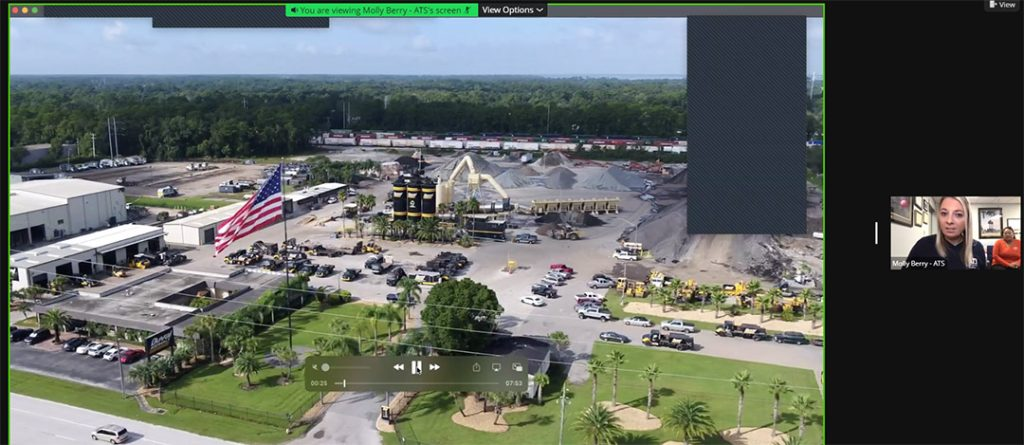 Virtual Asphalt Plant and Lab Tour Screen Shot